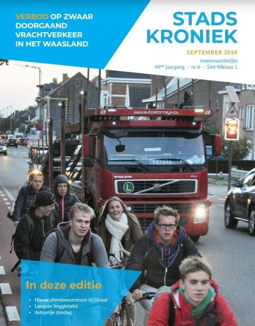 Stadskroniek cover september 2019
